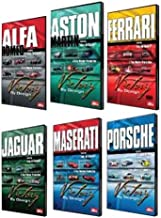 "Victory By Design DVDs. Complete Set. Porsche Ferrari Maserati Aston Martin Alfa Romeo Jaguar DVD. Race-winning cars driven hard. Unique footage, rare cars, hidden in private collections. ""Car Porn"" The New York Times"