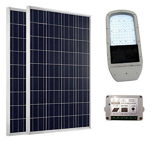 DCHOUSE Solar fotovoltaica sistema de iluminación: 1pieza 40 W 12 V LED...