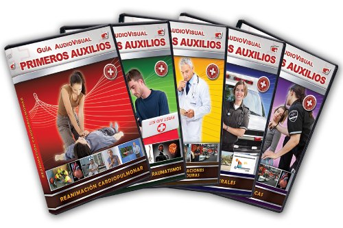 Pack Guia Audiovisual Primeros Auxilios [DVD]