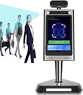 Temperature Detection+Facial Recognition 8 Inch Thermal Infrared Tablet Camera Access Control System Time Attendance