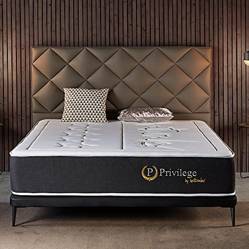 Naturalex   Privilege   Colchón 150x190 Cm Viscoelástico Calidad 5 Estrellas   Confort Insuperable con 7 Zonas de Descanso Muscular   Tejidos Ultra Transpirables Airtex3D Doble Cara   Ergonómico