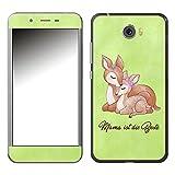 Disagu SF-106921_1003 Design Folie für Archos 50 Cobalt - Motiv Mama ist die Beste - grün