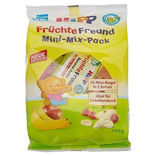 Hipp Früchte-Freund Mini-Mix-Pack, Bio, 100 g