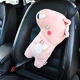 Pegatina de metal 3D para cinturón de seguridad de coche con personalidad creativa con una bonita almohadilla protectora para el hombro, alarga los muebles suaves (color: 1)