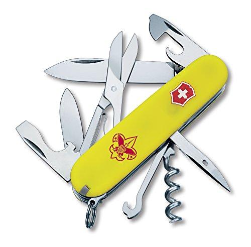 Victorinox Swiss Army Climber Boy Scout Pocket Knife, Stayglow