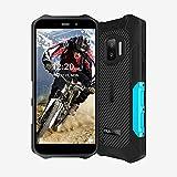 Moviles Libre Resistentes OUKITEL WP12 Android11 Rugged Smartphones 4GB+32GB Teléfono Móvil IP68 4000mAh 5.5 Pulgadas Robusto Movil 13MP+8MP Cámara 4G Dual SIM 3 LED Flash Indestructibles Móvil Azul