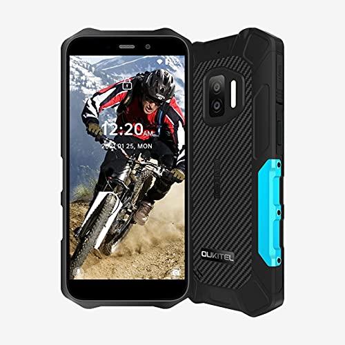 Rugged Smartphone OUKITEL WP12 (2021), Android 11 IP68 impermeabile Dual SIM Telefoni, Display 5,5 pollici Telefono, 13MP Dual camera 4000mAh Cellulari NFC, Blu