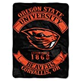 Oregon State Beavers 'Rebel' Raschel Throw Blanket, 60' x 80'