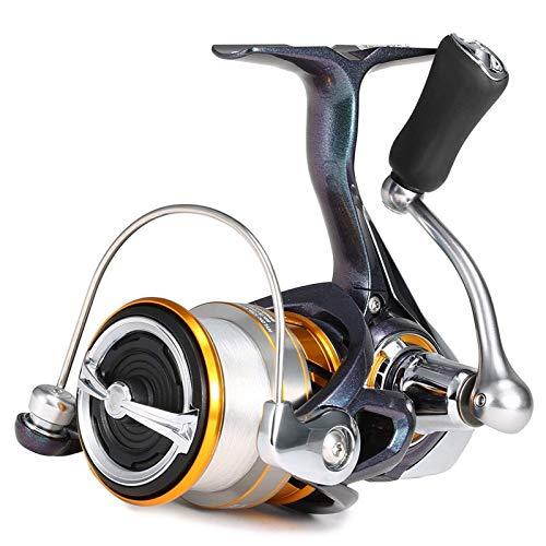 Carrete de pesca 10 rodamientos de bolas Spinning Pesca Carrete Tackle verdadero marco de carbono para la pesca del mar