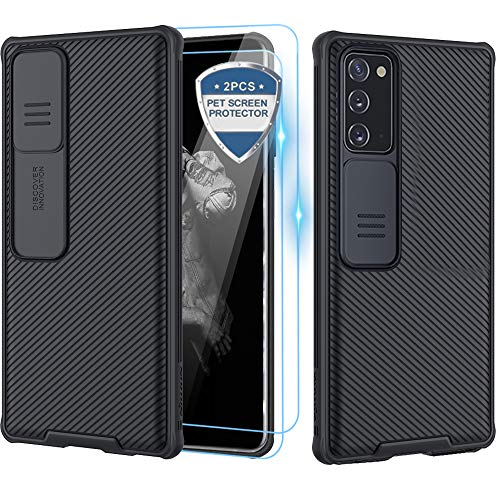 petit un compact Étuis, coques Samsung Galaxy Note 20 XCYYOO[Protection de la caméra],[2 Pack Protection écran]…
