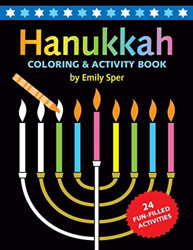 Hanukkah Coloring & Activity Book