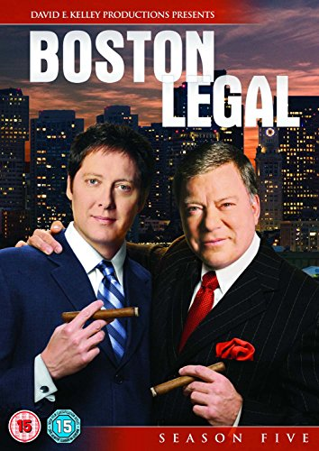 Boston Legal: Season 5 (6 Dvd) [Edizione: Regno Unito] [Edizione: Regno Unito]
