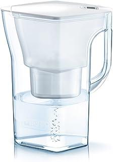 BRITA碧然德 净水壶 1.3L Navelia white memo 壶型净水器 附一个净水滤芯 Stylish 入门机型【日本规格?日本正版】