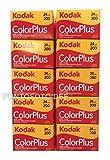 Kodak Color Plus 10pellicules 35mm 200/24–RZ de 10pièces.–Film–Molette–Photographie