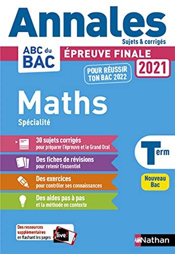 Mathématiques Tle (Annales ABC du Bac)