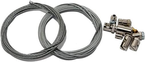 Set para reparación de Cable Bowden, Cable del Acelerador, Freno, Marchas y Embrague, Universal (2 x 2,5 m)