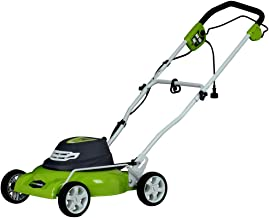 Greenworks 18-Inch 12 Amp Corded Electric Lawn Mower 25012 (Renewed)