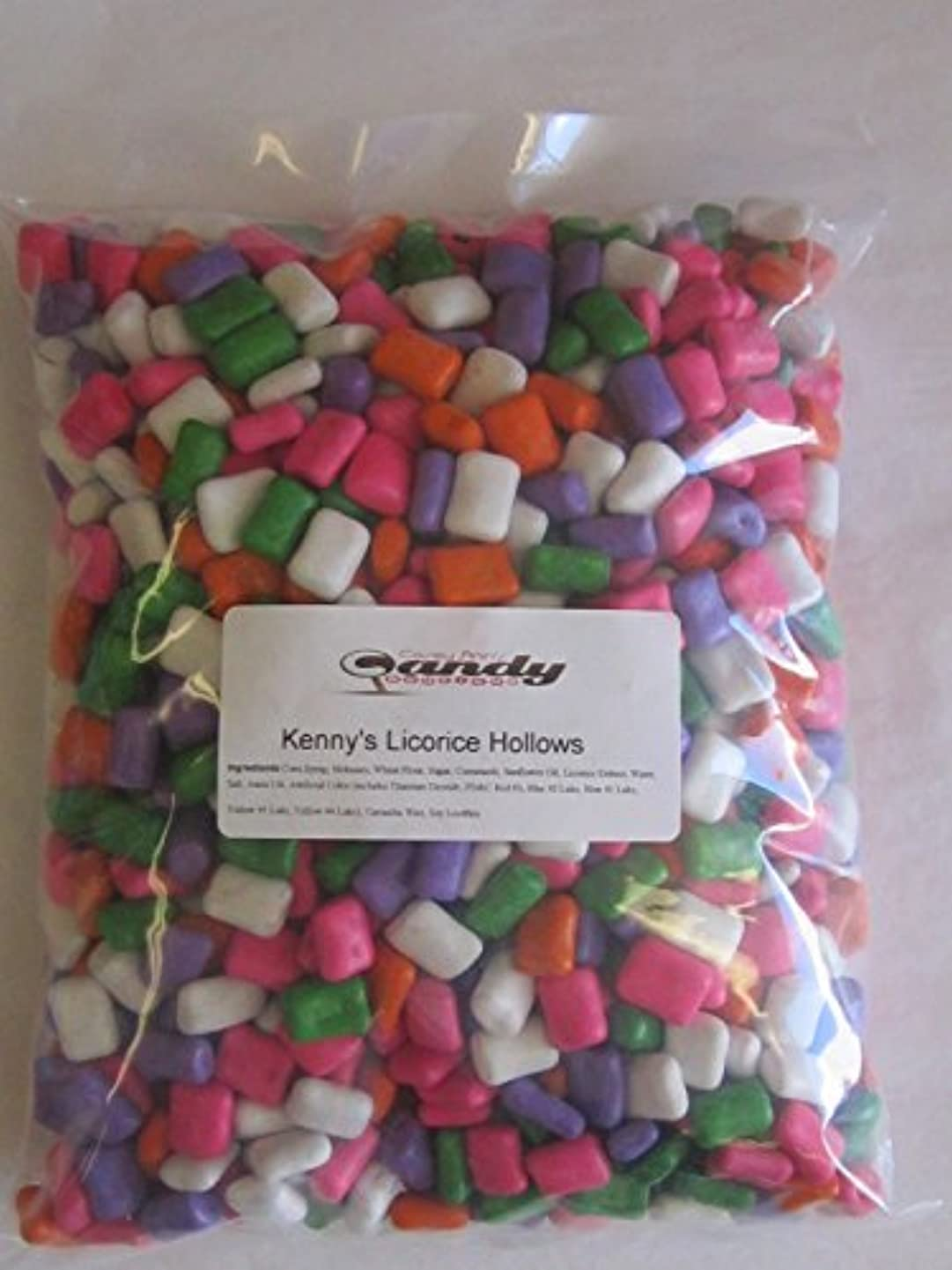 Licorice Hollows - Assorted, 5 lbs