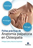 Fichas prácticas de anatomía palpatoria en osteopatía (Medicina)