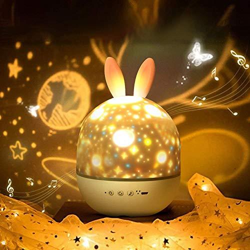 ロジェクターライト 星空ライト 投影ランプ 6種類投影映画フィルム 360度回転 多彩変更 USBロマンチック雰囲気作り 子供 彼女 プレゼント 誕生日 母の日 クリスマスギフト 日本語説明書付き