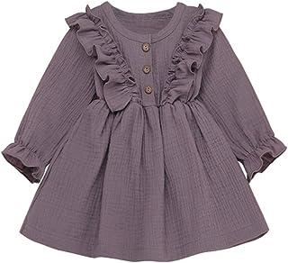 Kids Baby Girls Clothes Bohemian Short Sleeveless Flower Princess Floral Dress A-line Formal Summer Dress Skirt