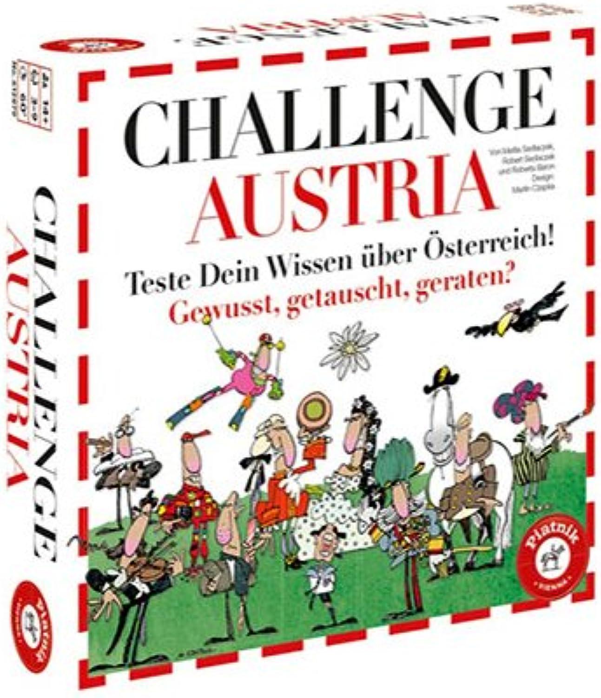 Piatnik 6128 - Brettspiel Challenge Austria B06Y46FSN9 Kaufen Sie online       Exquisite Handwerkskunst