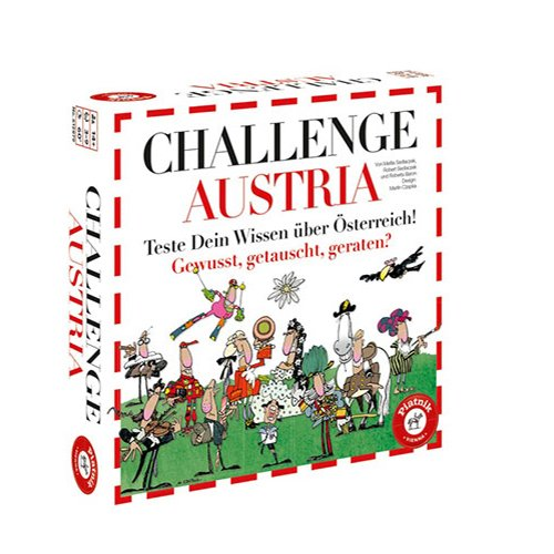 Piatnik 6128 - Brettspiel Challenge Austria