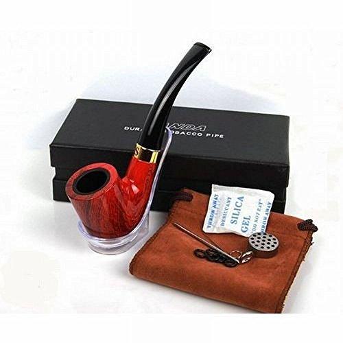 パイプ(刻みタバコ喫煙用)スターターキット シガー 煙管 たばこ 木目調