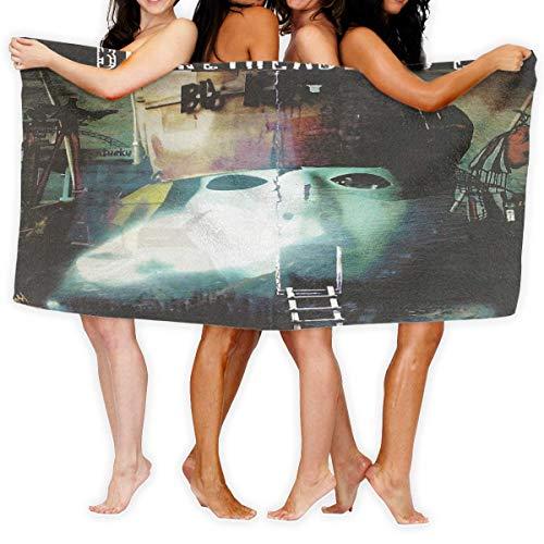 shenguang Toalla de baño Buckethead? Soft Bath Towels Beach Towel Fashion Print Luxury Bath Towel Man Women One Size