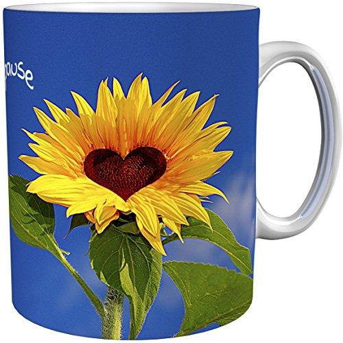 metALUm Kaffeetasse Sonnenblumen # 330010074