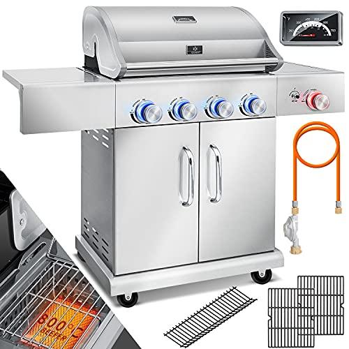 KESSER® Gasgrill Master BBQ mit 800°C...