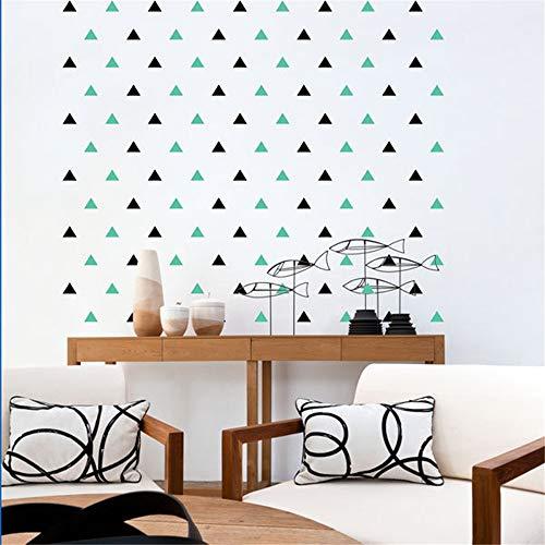 stickers muraux bebe juju et compagnie 32pcs / set Triangles DIY pour le décor de mur de chambre d'enfants de bébé