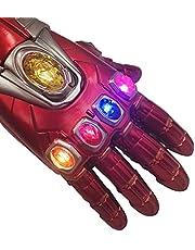 IANSISI Guantes De Iron Man para NiñOs, PVC Fulian 4 Kill Dad Thanos Arm Guantes InaláMbricos De Iron Man (PVC Children's)