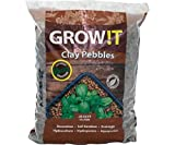 GROW!T GMC10L Clay Pebbles 10 Liter Bag, 4mm-16mm