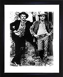 Paul Newman und Robert Redford gerahmtes Foto