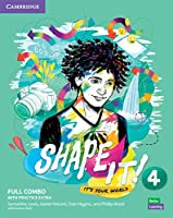 Shape It! Level 4 Full Combo Student's Book and Workbook with Practice Extra (New Lower Secondary Courses)