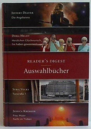 Die Angebetete / Herzlichen Glückwunsch, Sie haben gewonnen! / Torstraße 1 / Frau Maier fischt im Trüben. Readers Digest - Auswahlbücher