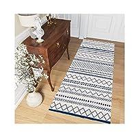 LIXIONG 廊下敷きマット カーペット、耐久性のあるスーパーソフト エリアラグ ラバーバリアエントランスドアカーペット、 キッチンダストフロアマットラグ 寝室の階段用、 カスタムサイズ (Color : A, Size : 1x3.5m)