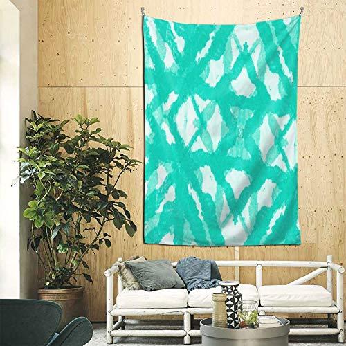 LeosWare Tapiz hippie psicodélico, abstracto, paisaje natural, bohemio, hippie, diseño retro, para colgar en la pared, dormitorio, sala de estar, decoración de 152 x 222 cm