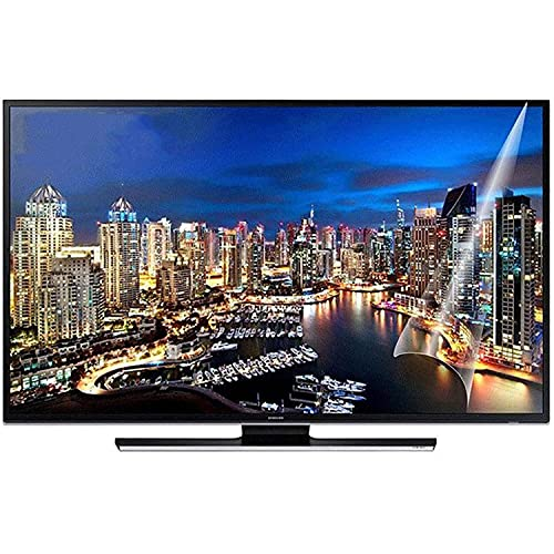 Protector de Pantalla de TV de 32-70 Pulgadas, luz Anti-Azul/no deslumbramiento/Anti rascada, alivie la Fatiga Ocular, para LCD, LED, OLED & QLED 4K HDTV,32' 698 * 392mm