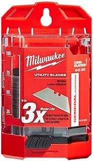 Milwaukee 48-22-1975 75-Piece General Purpose Utility Blades