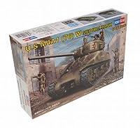 Hobby Boss US M4A1 76(W) Medium Tank Vehicle Model Building Kit [並行輸入品]