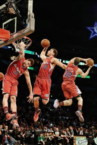 Blake Griffin Los Angeles Clippers Basketball Photo Poster 24x36 #1 by Pop Culture Posters