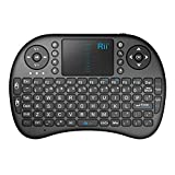 Rii Mini Bluetooth Wireless Touchpad Rechargable Keyboard Combo, for PC, PAD, Xbox 360