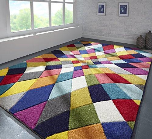 Flair Rugs Alfombra, Polipropileno, Multicolor, 160 x 230 cm