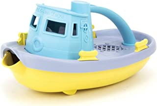 Green Toys Tugboat (Blue Handle) - Bath and Water Toys