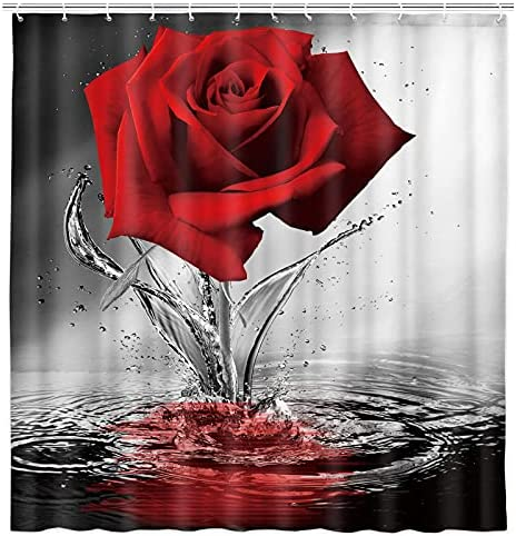 Rose shower curtain _image0