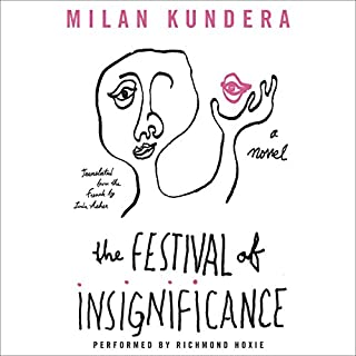 The Festival of Insignificance audiobook cover art