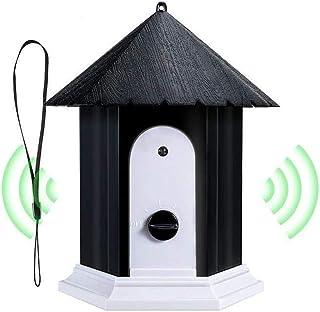 Bofunuo Ultrasonic Dog Bark Control Outdoor Dog Anti Bark Preventive Stop Barking Device Cute Bird House Box Design Waterp...
