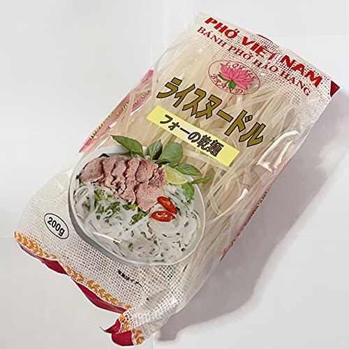 フォーの乾麺4�o200g ライスヌードル 原材料 米粉とタピオカでんぷんと食塩 ベトナム産